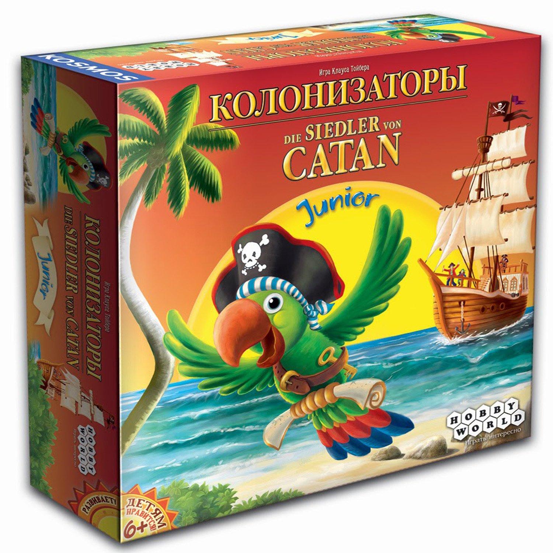 Hobby World Настольная игра Колонизаторы Junior 2014