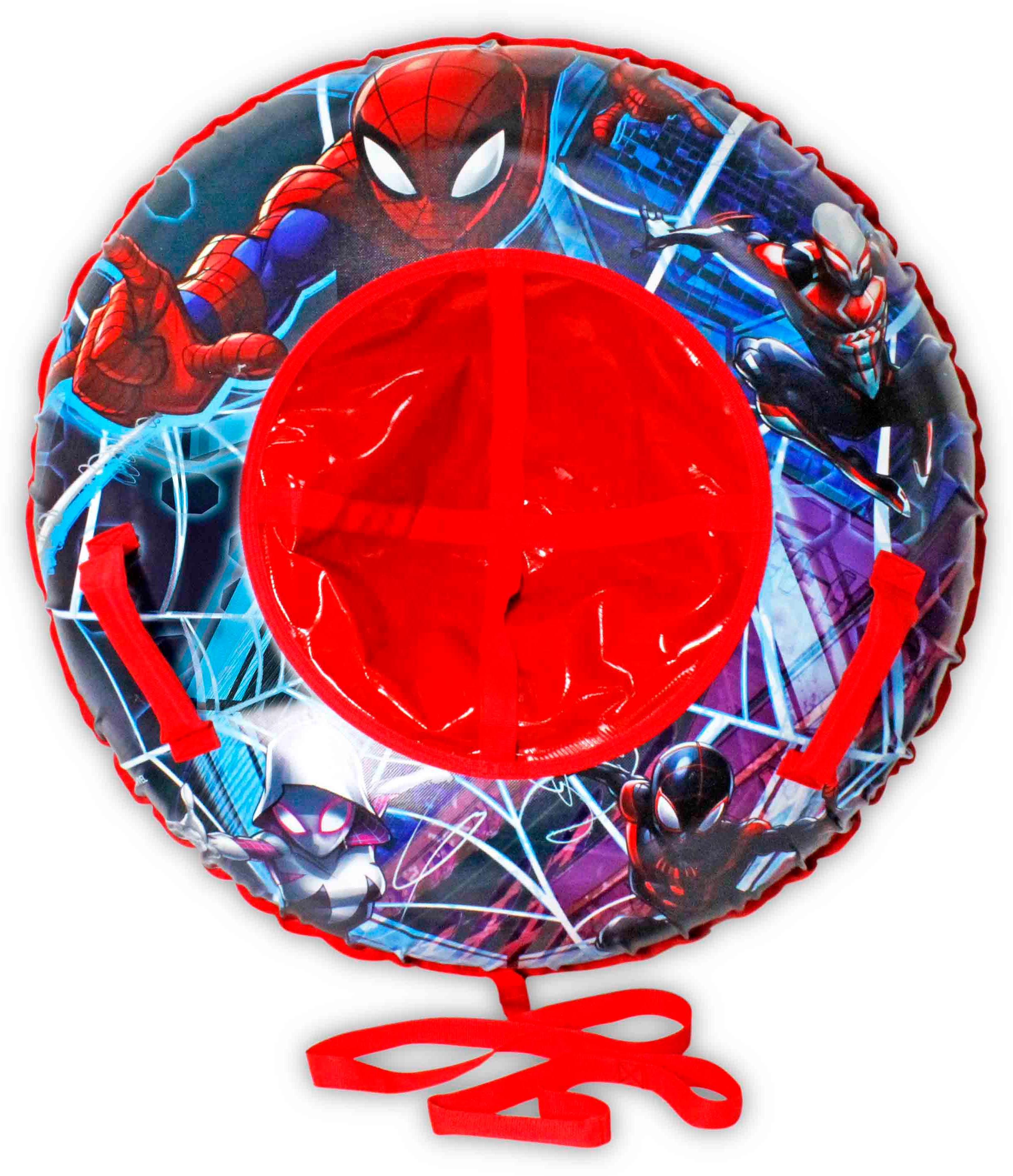 Купить Marvel тюбинг Человек-Паук 85 см - надувные сани, 1toy, Китай