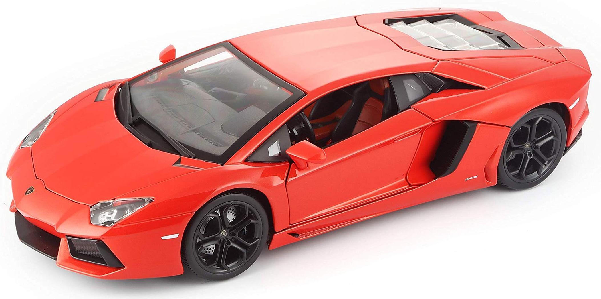 Купить BBURAGO Коллекционнная машина BB 18-11033 1:18 PLUS LAMBORGHINI AVENTADOR LP700-4 MET ORANGE, Оранжевый , Гонконг