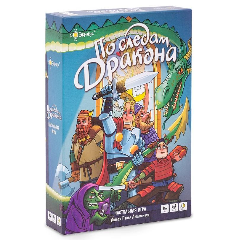 Купить Эврикус Настольная игра По следам дракона , Россия