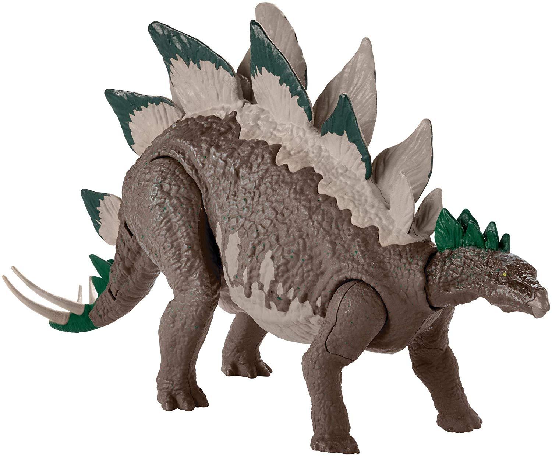Купить Jurassic World Стегозавр - Двойной удар - фигурка динозавра, Китай