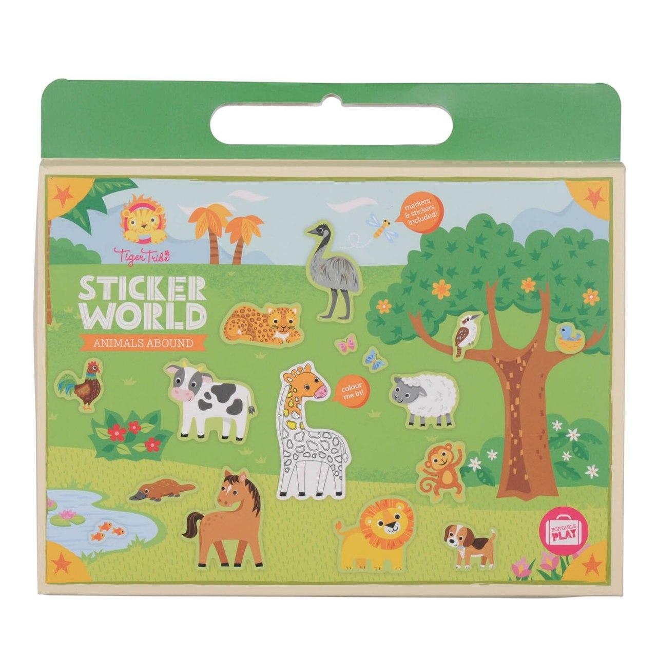 Купить Набор для творчества TIGER TRIBE 6-0223 Царство животных, Китай