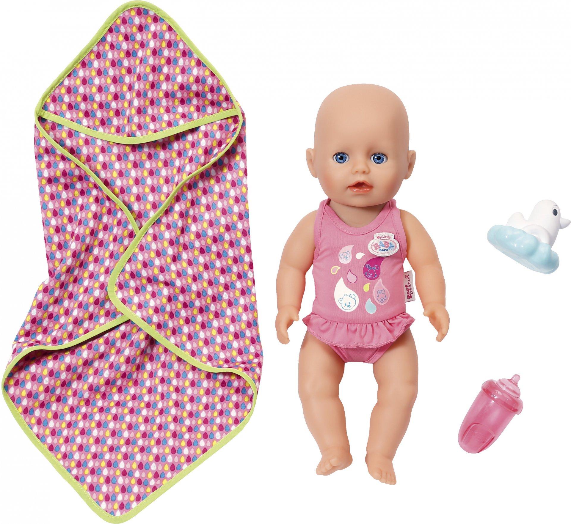 """Кукла Zapf Creation """"My Little Baby born"""" для игры в воде, 32 см"""