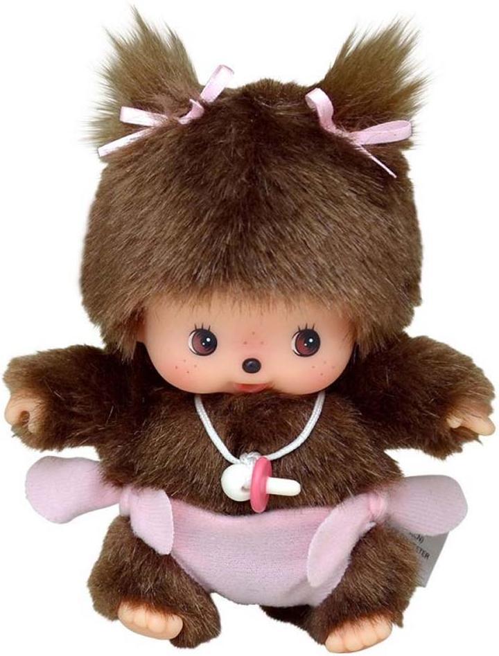 Купить Bebichhichi 15 см девочка в подгузнике, Monchhichi, Китай