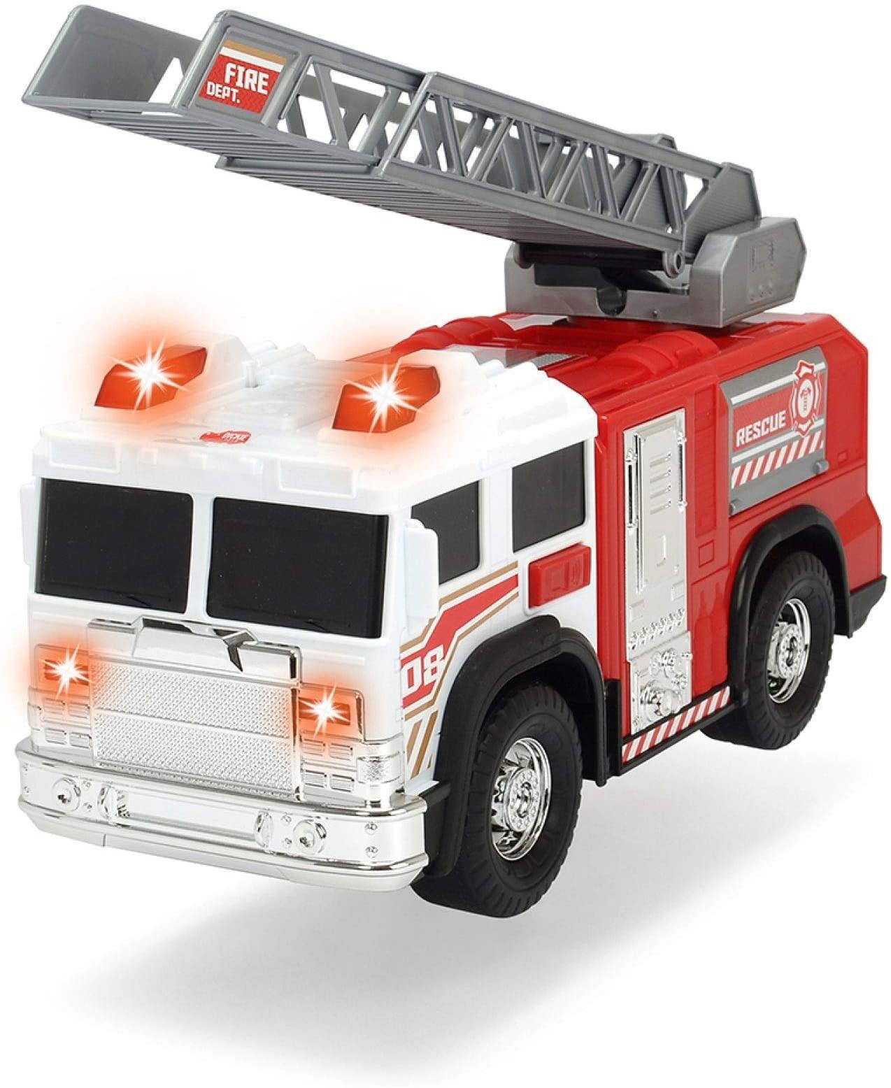 Купить Dickie Toys Пожарная машина Scania, 35 см, свет, звук, 3716017, Китай