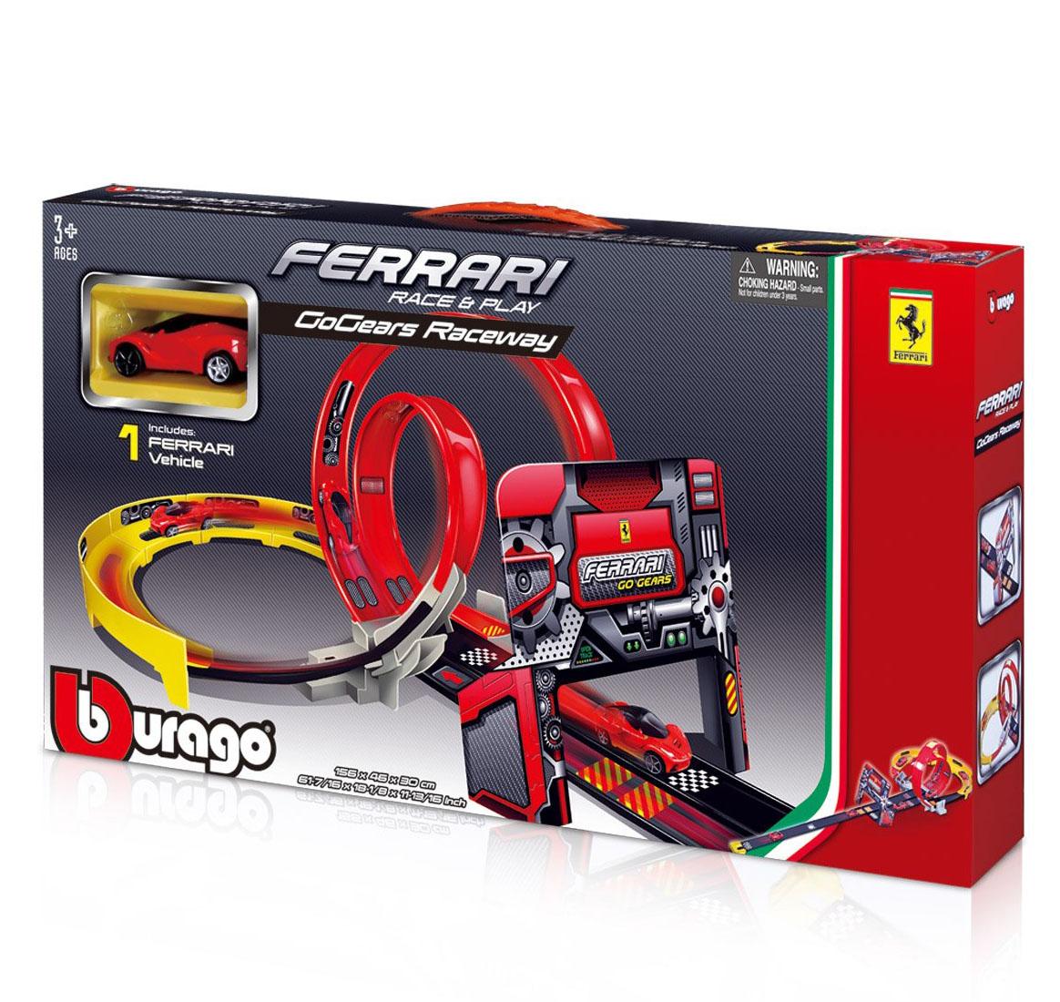 Bburago Трек GoGears Ferrari Двойная петля, 18-31301