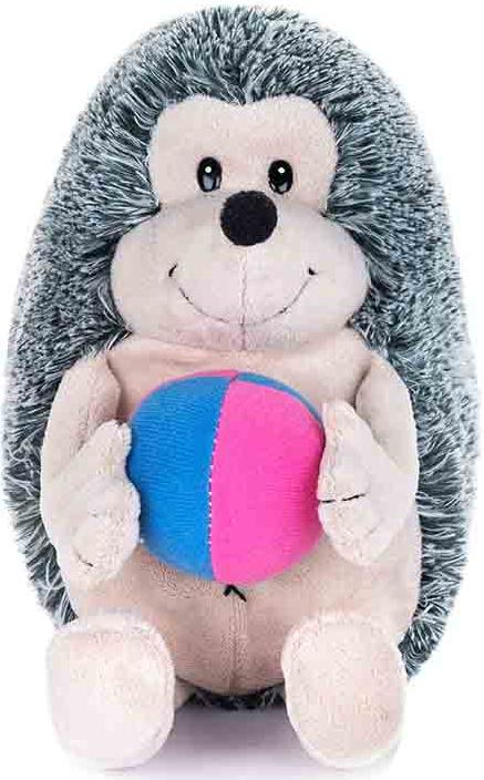 """Мягкая игрушка MAXIPLAY """"Ежик с Мячиком"""" (озвученный), 20 см"""