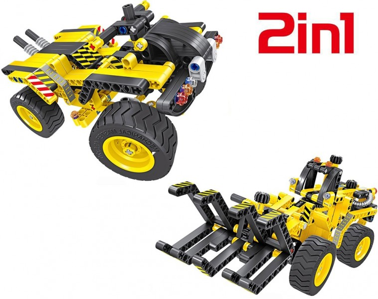 Купить QiHui Technics Конструктор 2 в 1 (трактор и багги) 342 детали - QH6804 , Китай