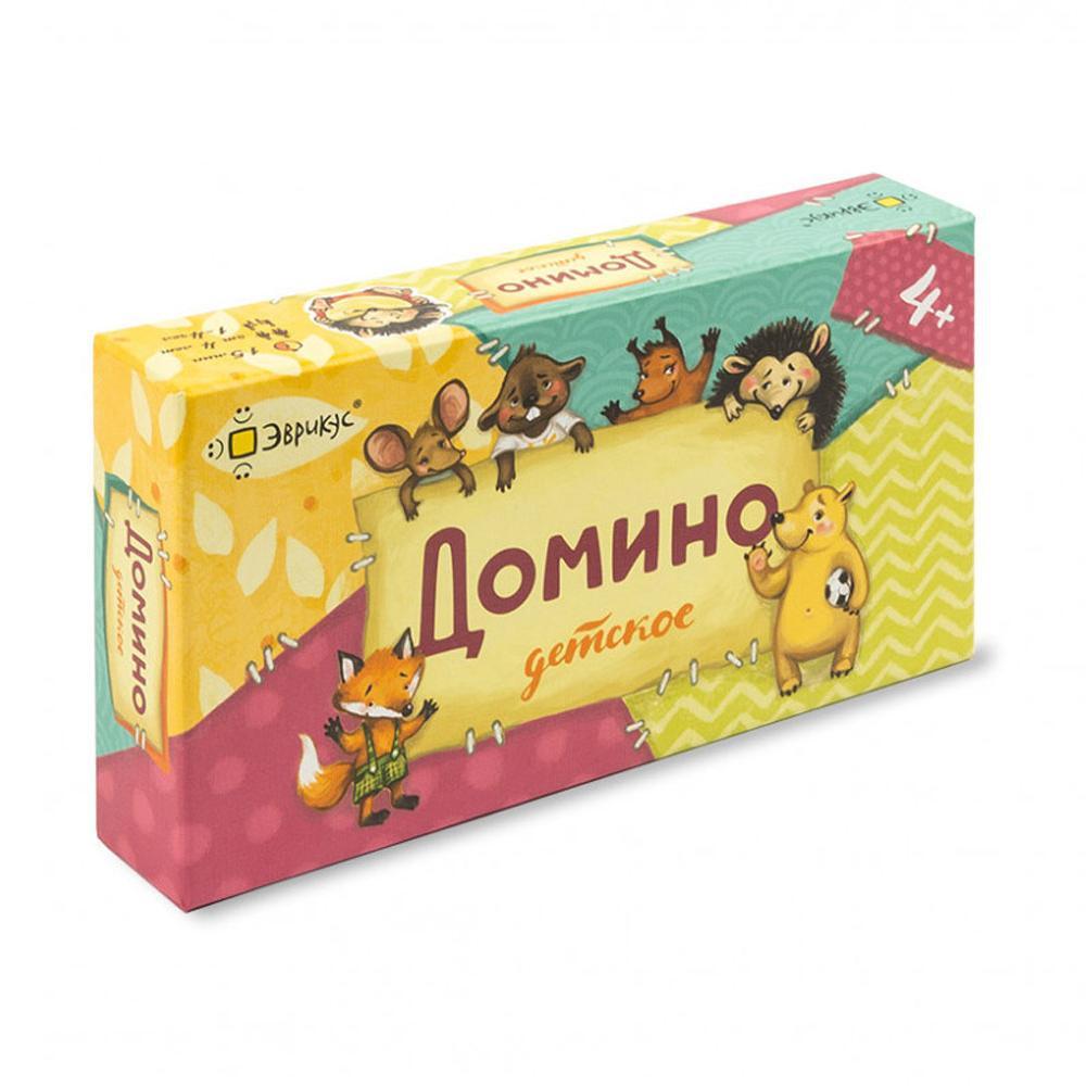 Купить Эврикус Настольная игра Домино детское , Россия