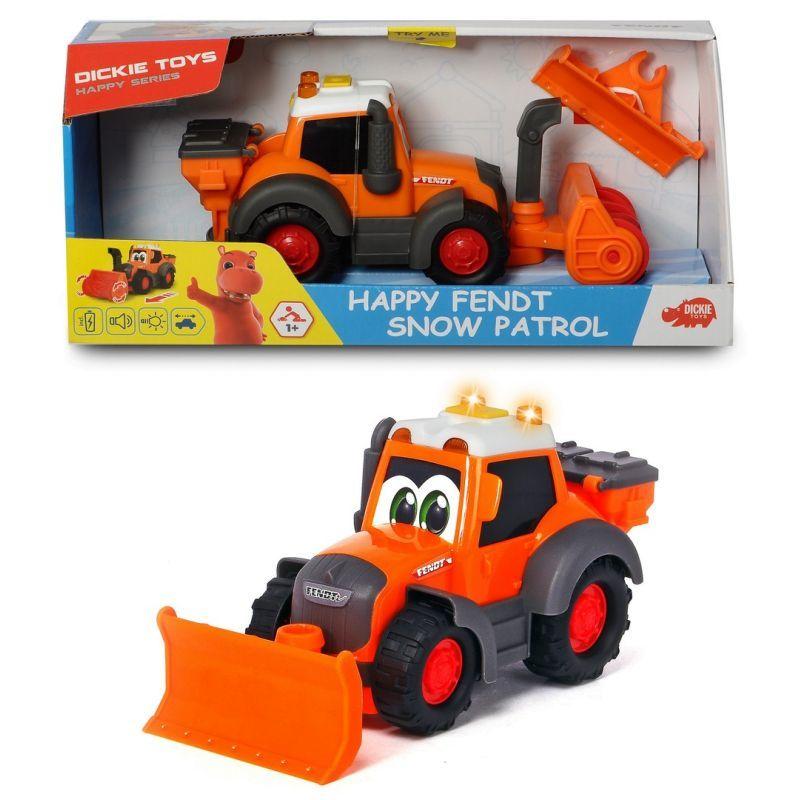 Купить Dickie Toys Снегоуборочная машина Happy Fendt 21 см, свет, звук, 3814014, Китай