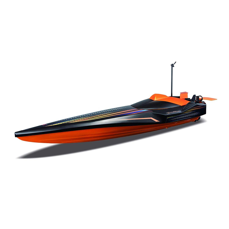 """Maisto радиоуправляемая гоночная лодка """"Hydro Blaster"""" 27/40Mhz оранжевый"""