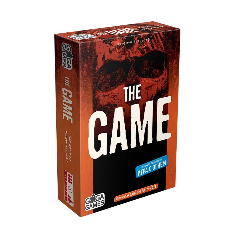Купить GAGA GAMES Настольная игра Игра (The Game), Россия