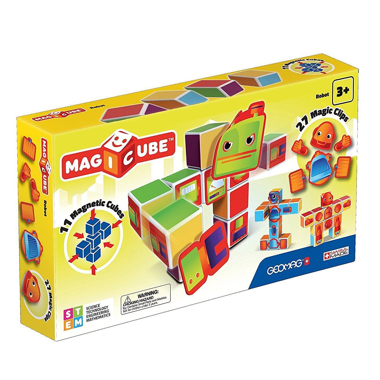 Купить Geomag Магнитный конструктор MagiCube Роботы , 38 деталей, Швейцария