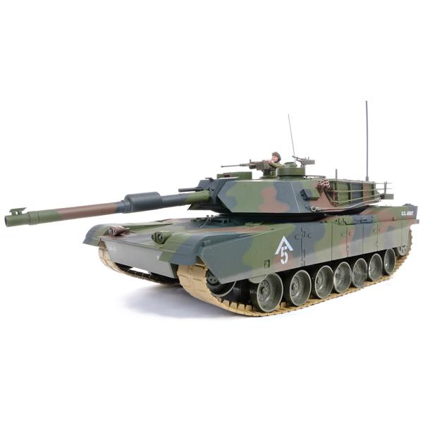 Купить Hobby Engine танк радиоуправляемый 1/16 M1A1 Abrams 0811-T, Китай
