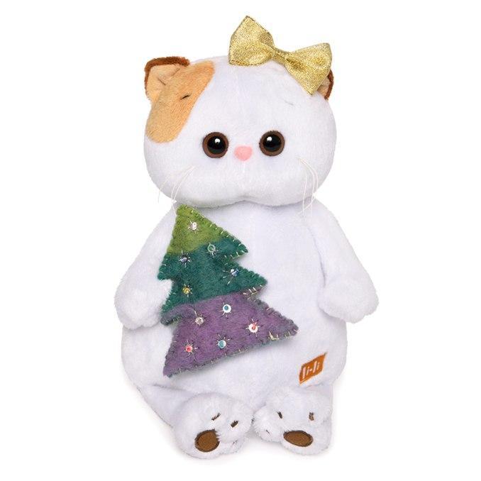 Мягкая игрушка BUDI BASA LK24-017 Ли-Ли с ёлочкой 24см