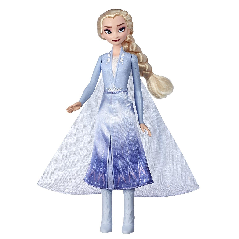 Купить Disney Princess Кукла Эльза, Холодное сердце 2 в сверкающем платье, Китай