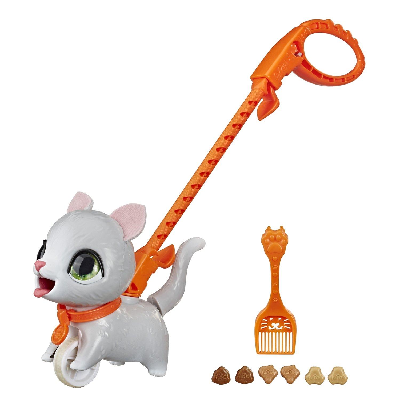 Купить FurReal Friends Игрушка Шаловливый питомец, маленький серый котенок , Китай