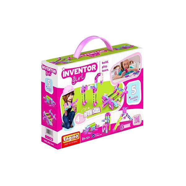 Купить Конструктор ENGINO IG05 INVENTOR GIRLS Набор из 5 моделей, Кипр
